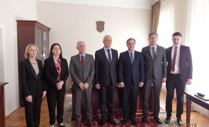 Bilateral meeting with the Delegation of the Audit Office of the Institutions of BiH