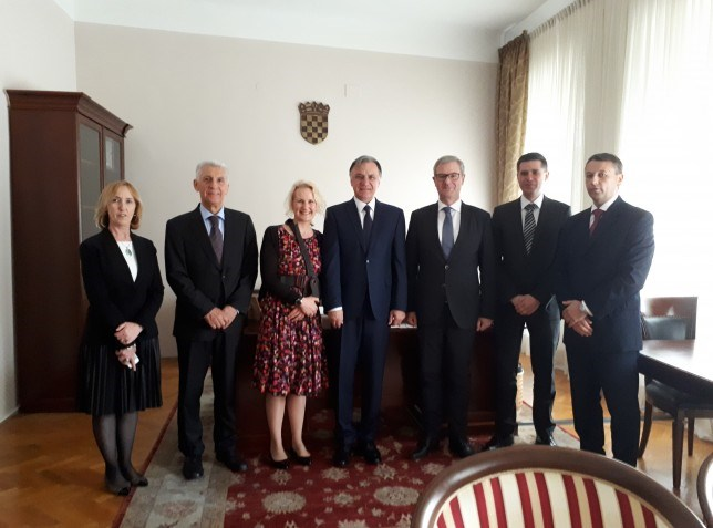 An official visit of the President of the Court of audit of the Federal Republic of Germany to the State Audit Office of the Republic of Croatia