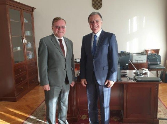 Bilateral meeting with the President of the National Audit Office of the Czech Republic