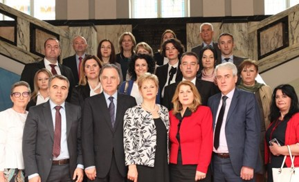 Representatives of the Republic of Macedonia in study visit to the State Audit Office of the Republic of Croatia